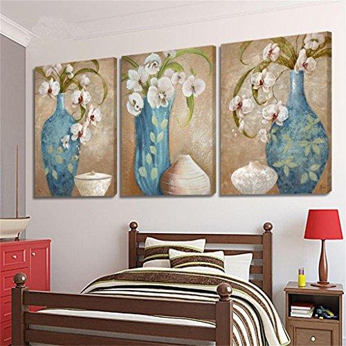 Zita and Zetan Sfondo retrò Stile Europeo di Pittura Sedia Sala da Pranzo Sfondo Muro di Pittura Ristorante Classico murales (Dimensioni : 40 * 60 * 2.5cm)