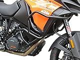 Defensa protector de motor Heed para motocicletas 1290 SUPER ADVENTURE S (2017 -) - negro