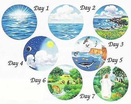 venta al por mayor barato 6 6 6 Creation Circles Felt Figures for Flannel Board Bible Stories-precut by Story Time Felts  venderse como panqueques