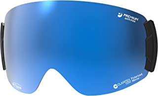【国産ブランド】SWANS(スワンズ) スキー スノーボード ゴーグル スペアレンズ プレミアムアンチフォグ ミラー 撥水 ロヴォ用 ROVO用