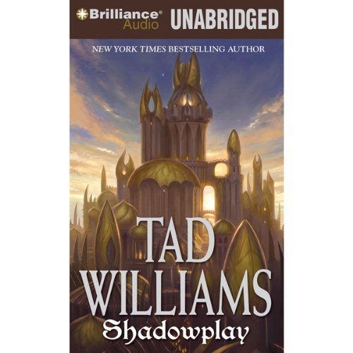 Shadowplay audiobook cover art