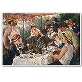 CanvasArts Frühstück der Ruderer - Pierre-Auguste Renoir