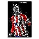 Sport-Fan-Poster, Fernando Torres O Art, Wanddekoration,