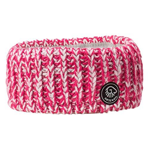 GIESSWEIN Stirnband Schafberg - warmes Headband mit Merino Wolle, feine Ohrenwärmer für Damen, Kopfband aus Strick mit Fleece Futter, Flauschiges Haarband für Wintersport