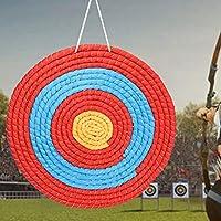 アーチェリー練習用ターゲット、屋外アーチェリーグラスターゲット、練習射撃用の3色ポータブル