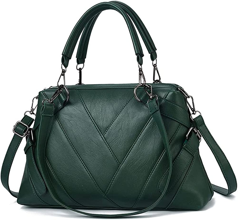 HUIUEITW Handbags for Women Fashion Ladies Handle Max 85% OFF Leather Top Sale PU
