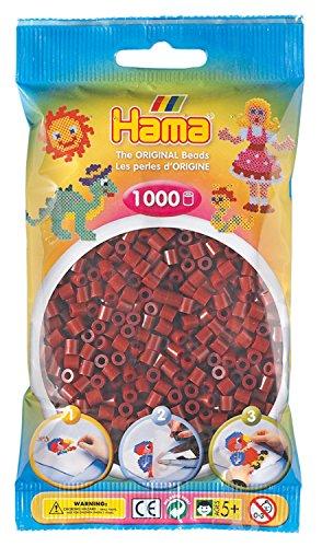 Hama 207-30 - Bügelperlen, 1000 Stück, maulbeerfarben