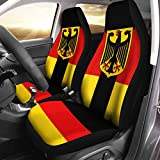 German Coat of Arms Germany Flag Airbag Compatible Seat Covers Car Accessories Size Universal Fit for Most Cars SUV Truck
