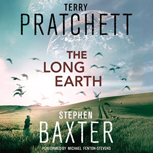 The Long Earth Audiobook By Terry Pratchett, Stephen Baxter cover art