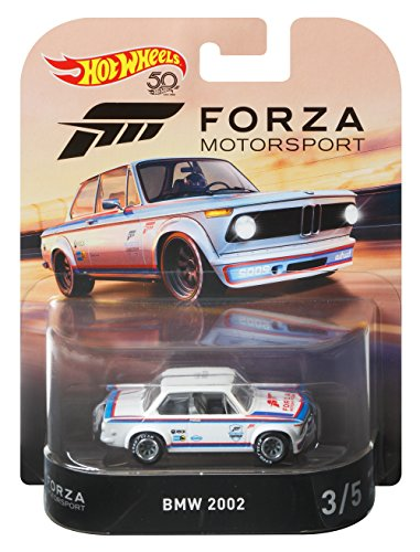 Hot Wheels BMW 2002 - Forza Motorsport 2018 Retro RR 1:64
