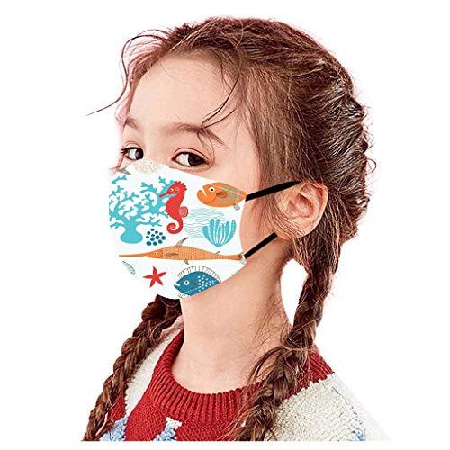 ZHX Atmungsaktive Mundmasken Schutztuch Gesichtsschutz Schutzhülle Outdoor Schutztuch staubdicht Winddicht Mund Schal 3 Stück für die persönliche Gesundheit Einstellbar Sportmaske (G)