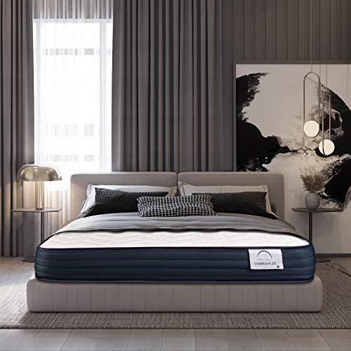 Lisabed Flex | Colchón Viscoconfort 135 x 190 cm | Viscoelástico Alta Densidad | Reversible (Invierno/Verano) | Gama Grand Confort | 20 cm (+/- 2 cm) | Todas Las Medidas