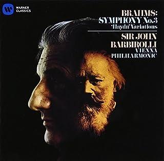ブラームス:交響曲第3番 ハイドンの主題による変奏曲