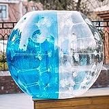 Anfan 1.2~1.5M Inflatable Bumper Ball 25.6 in Diameter Bubble Soccer Ball Transparent Material Human Knocker Ball