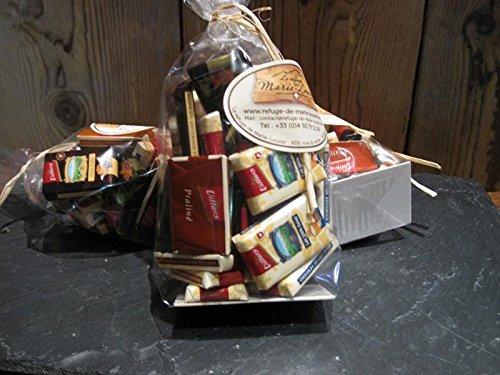 Napolitains - Schweizer Dunkle und Milch Schokolade - 130gr