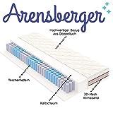 Arensberger ® SPRINGXX 7-Zonen Taschen-Federkern Matratze, 90 x 200 cm, Höhe 19cm - 2