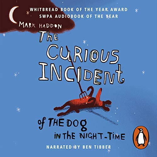 The Curious Incident of the Dog in the Night-Time (Unabridged)                   By:                                                                                                                                 Mark Haddon                               Narrated by:                                                                                                                                 Ben Tibber                      Length: 5 hrs and 59 mins     1,300 ratings     Overall 4.5