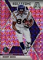 2020 Mosaic Football Prizm Camo Pink #283 Randy Moss Minnesota Vikings Official Panini NFL Trading Card