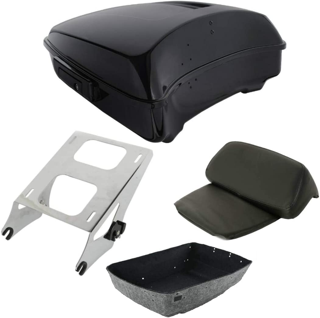 TCT-MT Ranking TOP18 Chopped Tour Pak Trunk Backrest Mounting 2021 Har Fit Rack for