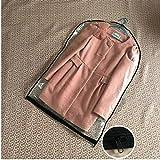ZHYHAM 5 piezas de ropa colgando cubierta de polvo ropa ropa exterior bolsa de almacenamiento 100% transparente armario agua lavado bolsa