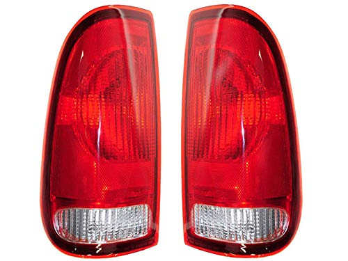 Ford Replacement Tail Light Unit - 1-Pair by AutoLightsBulbs