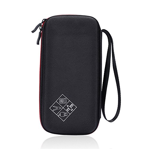 Hard Protective Carry Case for Texas Instruments TI-83 Plus Texas Instruments TI-84 Plus CE Graphing Calculator (Black+Red) Photo #7