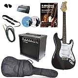 Guitare électrique Set Clifton Black, Maple Neck