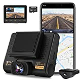 Dual Dash Cam, AQP Full HD 1080P Car Camera Front...