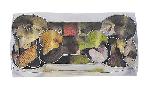 Dog Bone Cookie Cutters, Assorted Sizes, 4-Piece Set