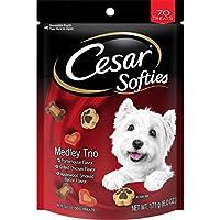 CESAR SOFTIES Medley Trio Dog Treats - 6.7 oz. 70 Treats by Cesar