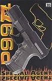 Pistole Agent P99, (25er-Streifen Munition), ca. 18 cm Länge, Spielzeugpistole, Kinderspielzeug,...