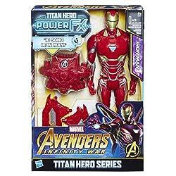 Attiva frasi e suoni Personaggio ispirato al film Compatibile con il Titan Hero Power FX Pack Ispirato al film Avengers: Infinity War Colleziona tutti gli Avenger