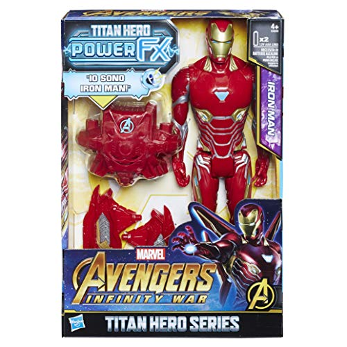 Hasbro Marvel Avengers Infinity War Iron Spider Titan Hero Power FX (Personaje Action Figure), 30 cm, e0606103