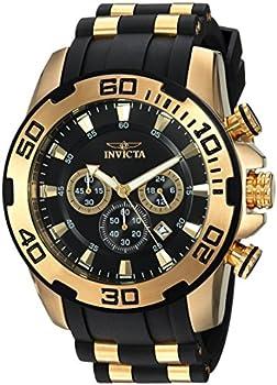 Invicta 22340 Men's Pro Diver Stainless Steel Quartz Watch