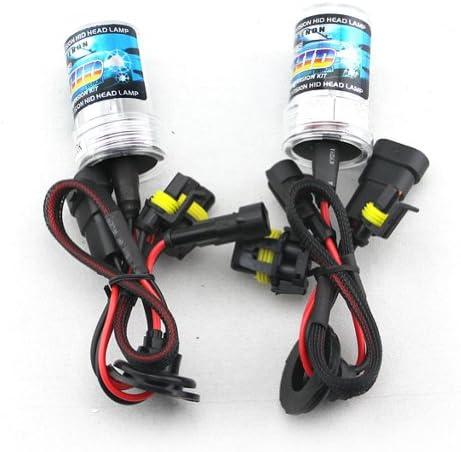 Car HID Xenon Single Beam Lights Bulbs Lamps 9006 4300K Sunlight White 12V 35W 1 Pair product image