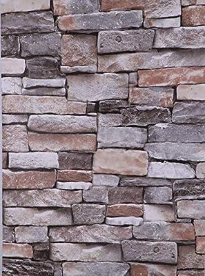 Papel Pintado, Autoadhesivo, Impermeable, resistente al aceite y fácil de limpiar. 40X500 cm Vinilo decorativo para paredes, se puede utilizar en superficies lisas y planas Apto para superficies planas y lisas. Tales como: paredes, puertas, muebles, ...