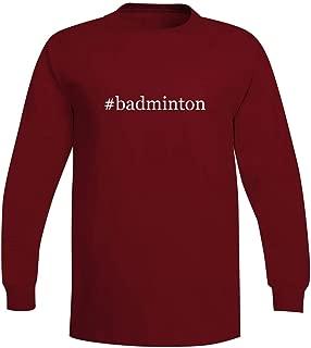 #Badminton - A Soft & Comfortable Hashtag Men's Long Sleeve T-Shirt