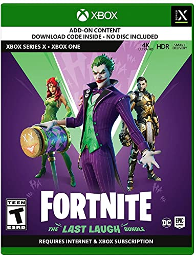 Fortnite: The Last Laugh Bundle - Xbox Series X [Code in Box]