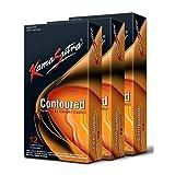 Kama Sutra Condoms, Contoured condoms, Natural latex condoms, lubricated condoms for men (pack of 36)