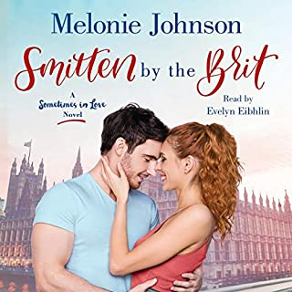 Smitten by the Brit audiobook cover art