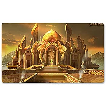City-of-Brass - Board Game MTG Playmat Table Mat Games Size 60X35 cm Mousepad Play Mat for Yugioh Pokemon Magic The Gathering