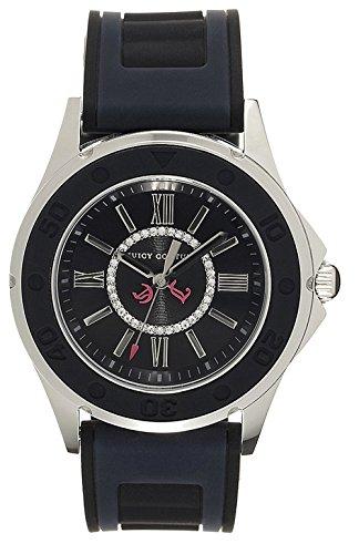 Juicy Couture Reloj Análogo clásico para Mujer de Cuarzo con Correa en Caucho 1900875