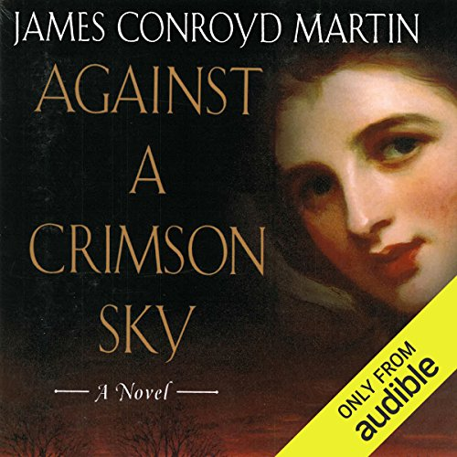 Against a Crimson Sky audiobook cover art