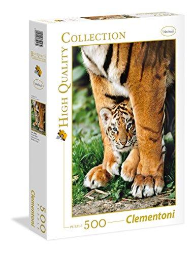 Clementoni 35046 puzzle Puzzle - Rompecabezas (Puzzle rompecabezas, Fauna, Adultos, Tigre, Hombre/Mujer, 14 año(s)) , color/modelo surtido