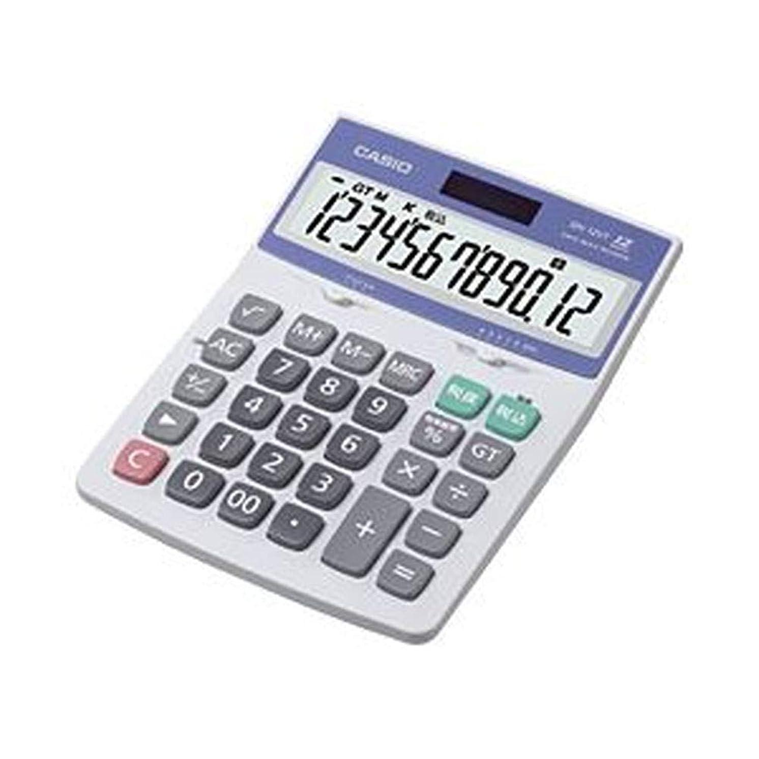 嵐の時間再生可能==業務用セット== ?カシオ==CASIO== ?中型電卓?12桁?縦17.5×横12.6×厚さ3.5cm?DH-12VT-N?1個?-×3セット-