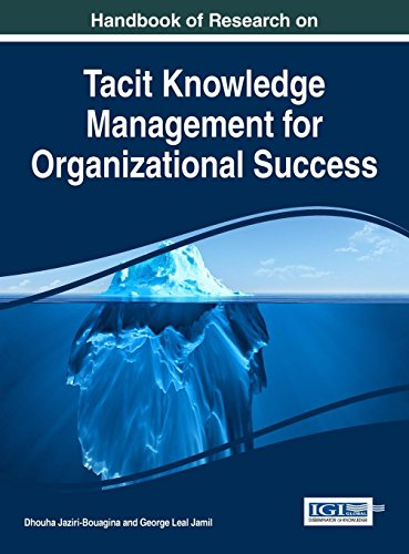 Handbook of Research on Tacit Knowledge Management for Organizational Success (Advances in Knowledge Acquisition, Transfer, and Management)