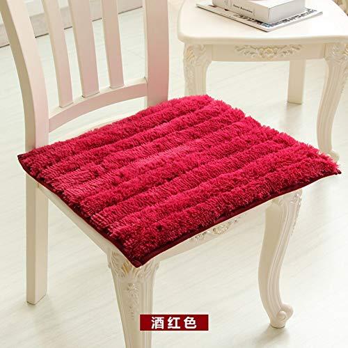 YLCJ stoelkussen, overtrek voor bureaustoel, velours, koraalovertrek met Europese stof, 4 seizoenen C, 45 x 50 cm