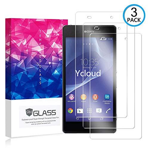 Ycloud [3 Pack] Protector de Pantalla para Sony Xperia Z2 (5.2 Pulgada),[9H...