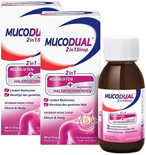 Mucodual 2 in 1 Sirup 2x 100 ml