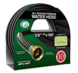 Crisp-Air CRGH58100 All Season Premium Garden Hose, 5/8-Inch by 100-Feet